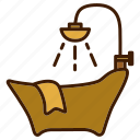 bathroom, clean, home, jacuzzi, relax icon