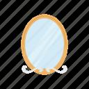 bathroom mirror, beauty, furniture, household, mirror, salon icon