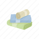 bathroom, bathroom towel, cloth, fabric, household, towel icon