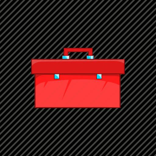 briefcase, cartoon, equipment, handle, plumbing, repair, work icon