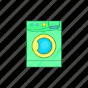 laundry, equipment, appliance, machine, wash, clean, cartoon icon