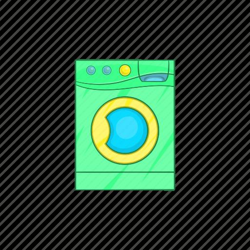 appliance, cartoon, clean, equipment, laundry, machine, wash icon