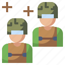 army, man, occupation, security, soldier, user, weapon icon