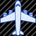 aircraft, airplane, flight, plane icon