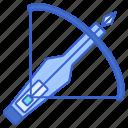 arrow, crossbow, weapon icon