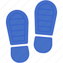 foot, footprint, footsteps, track