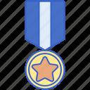 award, badge, medal, rank