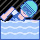 pool, swim, swimming, water