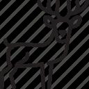 bavaria, bavarian, bayern, deer icon