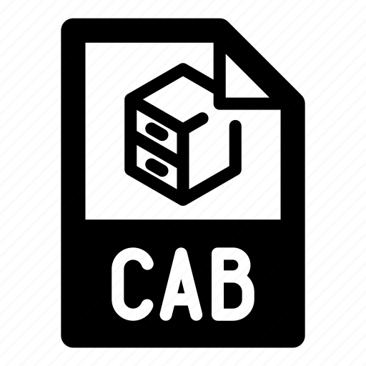 archive, cab, extension, file, filing cabinet, format, type icon
