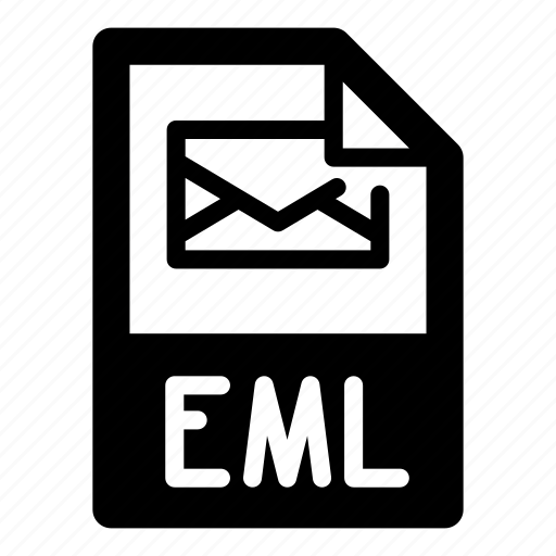 document, e-mail, email, eml, envelope, extension, file, format, letter, text, type icon