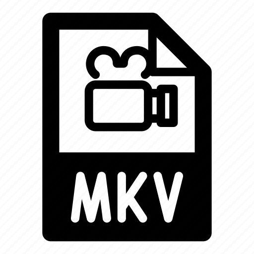 camera, extension, file, format, mkv, type, video icon