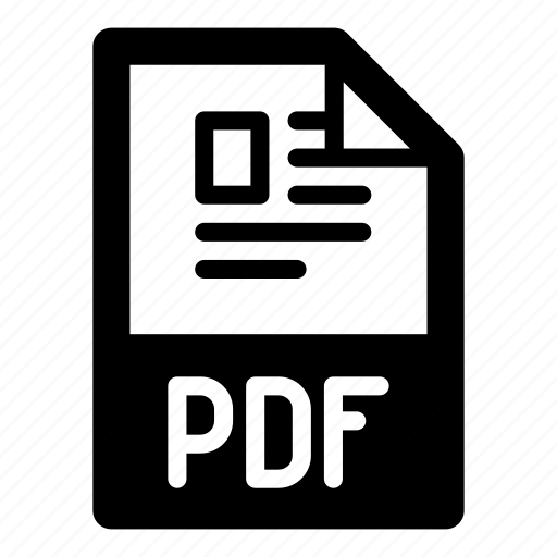 document, extension, file, format, pdf, text, type icon