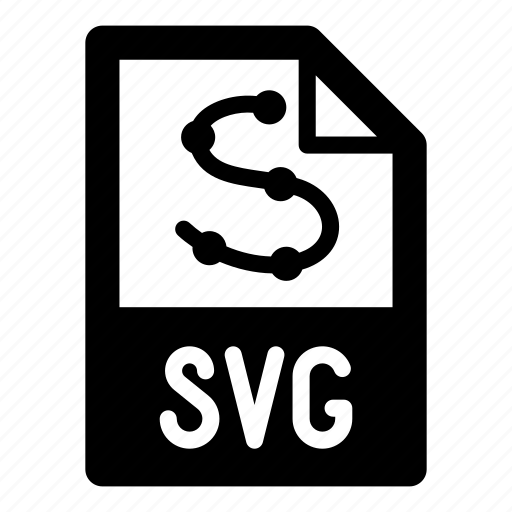 extension, file, format, svg, type, vector icon