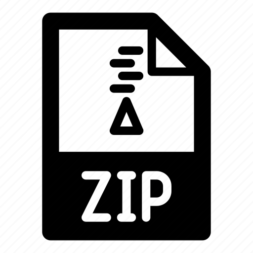 archive, extension, file, format, type, zip, zipper icon