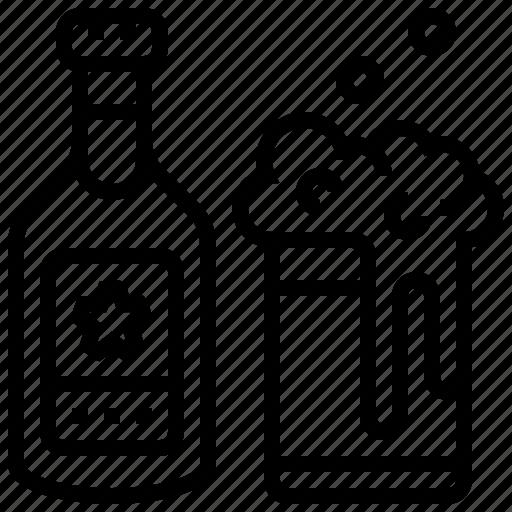 Mug Beer Beverage Bottle Glass Icon