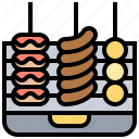 barbecue, cooking, food, grill, party icon
