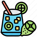 drink, glass, juice, oil, olive icon