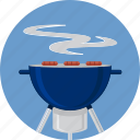 barbecue, bbq, beef, charcoal, fire, grid, grill icon