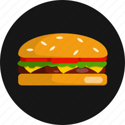 american, beef, big, burger, cheeseburger, hamburger, sandwich icon