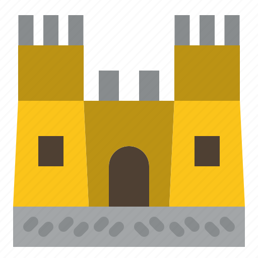 Beach, castle, sand icon - Download on Iconfinder