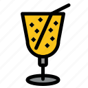 beach, drink, juice icon