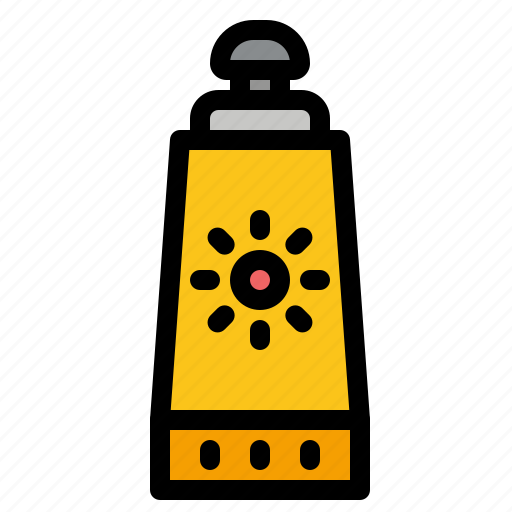 Beach, sunblock, sunscreen icon - Download on Iconfinder