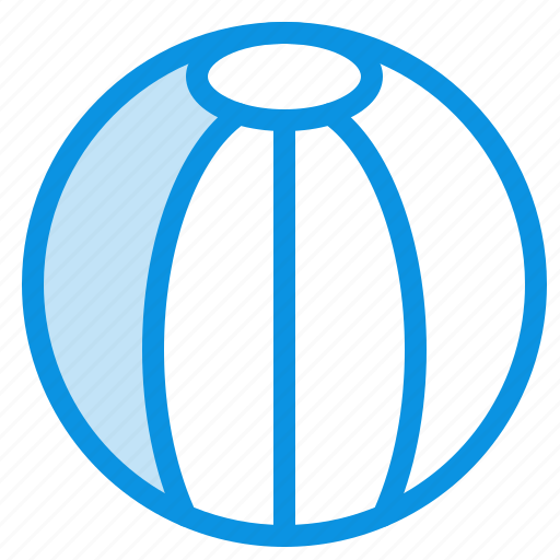 Ball, beach, toy icon - Download on Iconfinder on Iconfinder