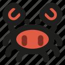 crab, seafood, food, ocean