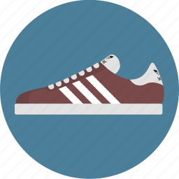 adidas, clothing, gym, shoe, sneaker, sport, sports shoe icon