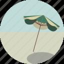 beach, parasol, summer, sun, sunbathing, sunshade, umbrella icon