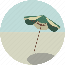 beach, parasol, summer, sun, sunbathing, sunshade, umbrella icon