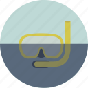 diver, diving, ocean, scuba diving, sea, underwater, underwater mask icon