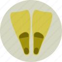 beach, diver, diving, flippers, scuba diving, summer, underwater icon