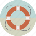 lifebelt, lifebouy, lifesaver, save, ship, swimming icon