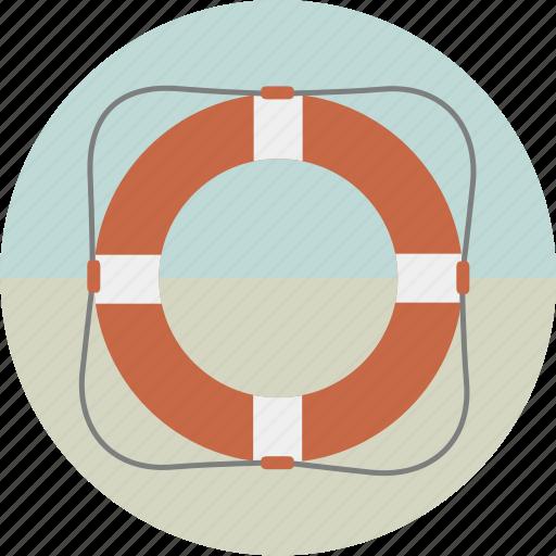 lifebelt, lifebouy, lifesaver, save, ship, swimming icon