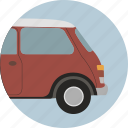 automobile, car, drive, mini, transport, travel, vehicle icon