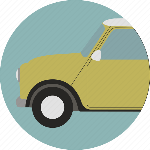 automobile, car, driving, mini, transport, travel, vehicle icon