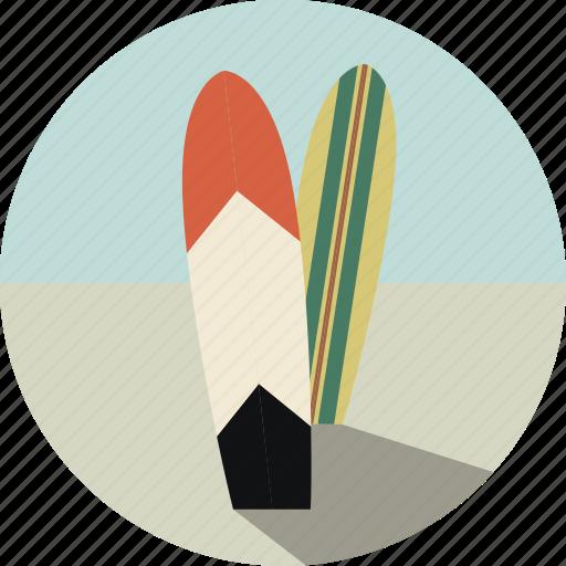 beach, hobby, sport, summer, surf, surfboard, surfing icon