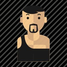 bear, man, strong, wrestler icon