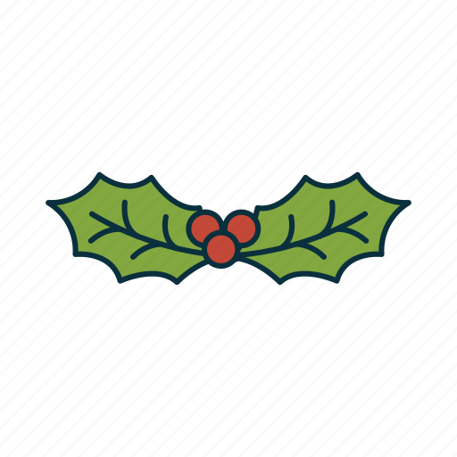 christmas, elements, mistletoe, pack, tradition, wbmte252 icon