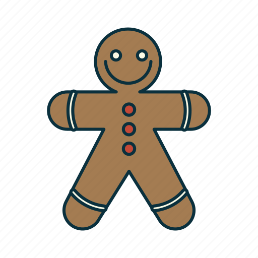 Christmas, elements, figur, ginger bread, holidays, pack, wbmte252 icon - Download on Iconfinder