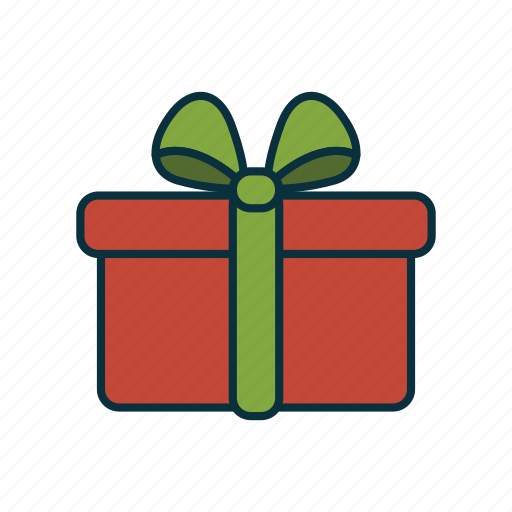 Bow, christmas, elements, holidays, present, wbmte252, wrapped icon - Download on Iconfinder