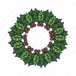 advent wreath, christmas, elements, holidays, pack, wbmte252 icon