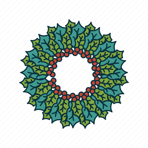 advent wreath, christmas, elements, holdiday, pack, wbmte252 icon