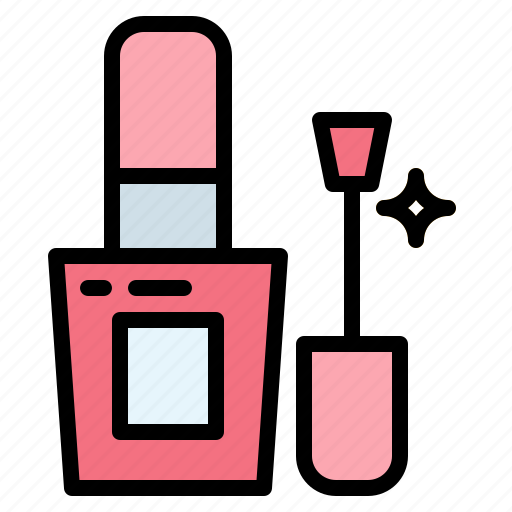 beauty, makeup, nail, polish, saloon icon