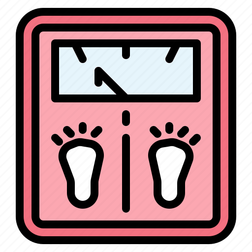 body, weigh, weight icon