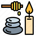 massages, spa, stones, relax icon