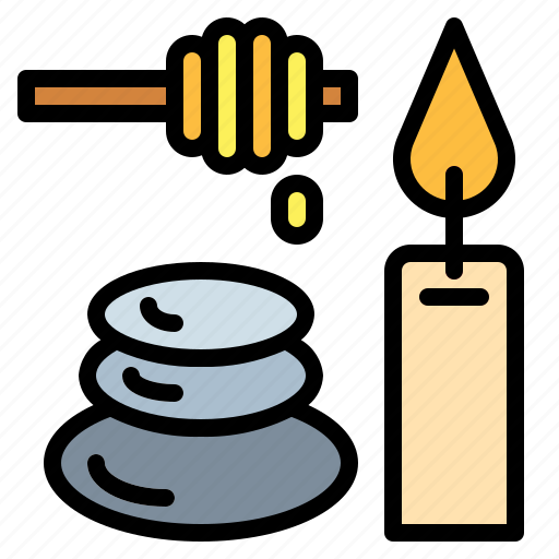 massages, relax, spa, stones icon