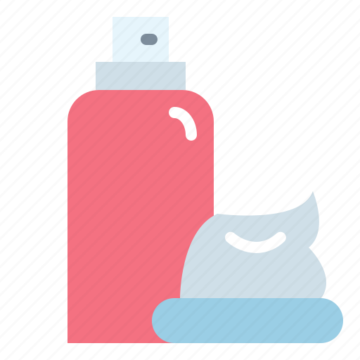 beauty, foam, razor, shaving icon